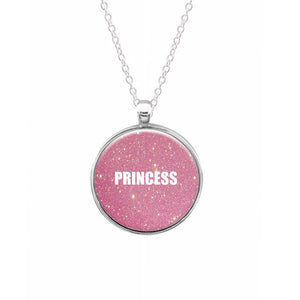 Glittery Pink Princess Keyring - Fun Cases
