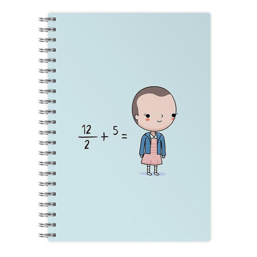 Eleven - Funny Stranger Things Pun Notebook - Fun Cases