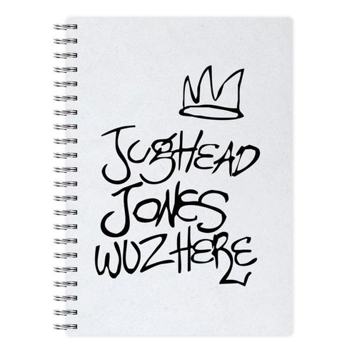 Jughead Jones Woz Here - Riverdale Notebook - Fun Cases