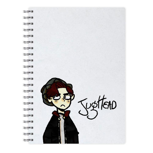 Jughead Cartoon - Riverdale Notebook - Fun Cases