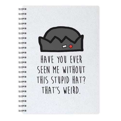 Jughead Jones - Stupid Hat - Riverdale Notebook - Fun Cases
