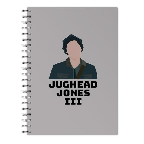 Jughead Jones III - Riverdale Notebook - Fun Cases