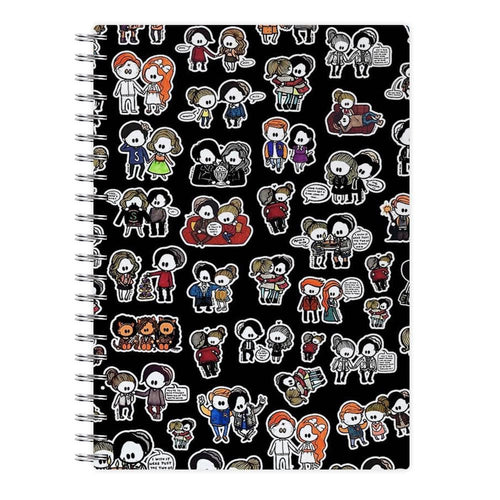 Riverdale Dolls Pattern Notebook - Fun Cases