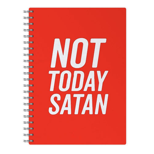 Red Not Today Satan - RuPaul's Drag Race Notebook - Fun Cases