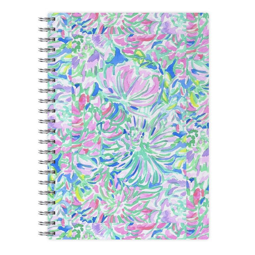 Colourful Floral Painting Notebook
