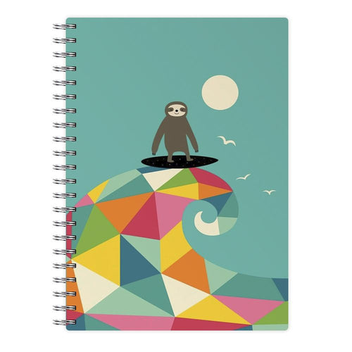 Surfing Sloth Notebook