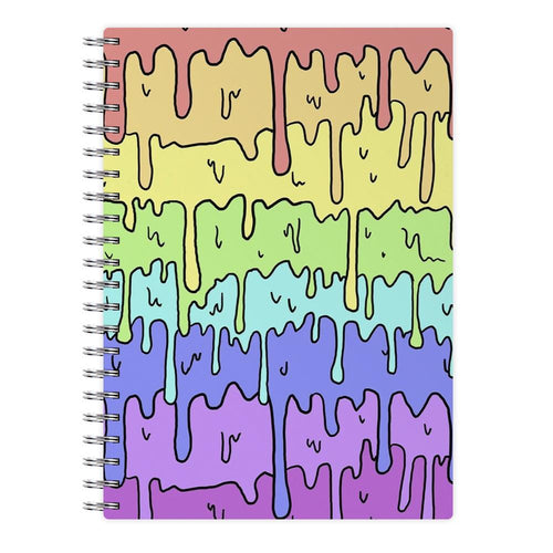 Dripping Rainbow Notebook