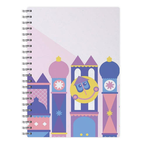 It's A Small World - Disney Notebook