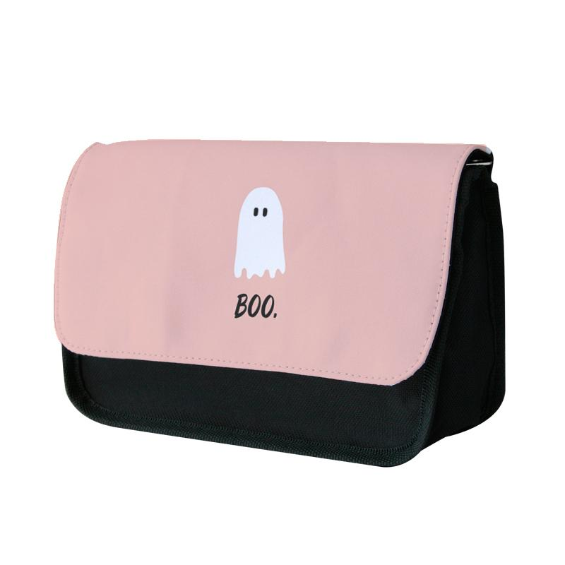 Boo - Ghost Halloween Pencil Case
