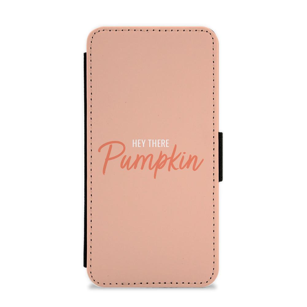 Hey There Pumpkin - Halloween Flip / Wallet Phone Case