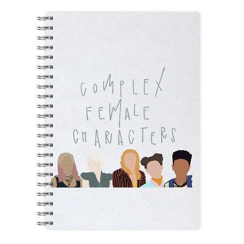 Complex Female Characters - Sex Education Notebook