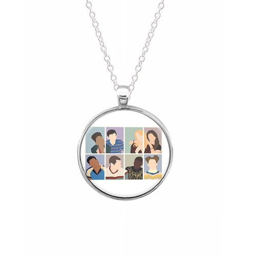 Sex Education Characters Necklace