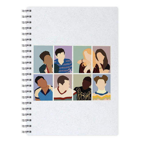 Sex Education Characters Notebook