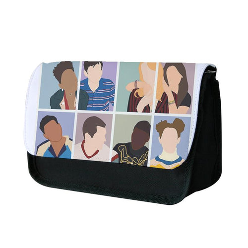 Sex Education Characters Pencil Case