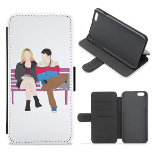 Maeve and Otis - Sex Education Flip / Wallet Phone Case