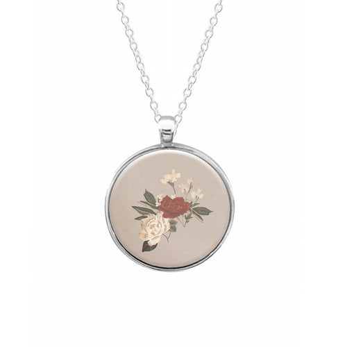 Shawn Mendes Floral Necklace