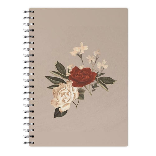 Shawn Mendes Floral Notebook