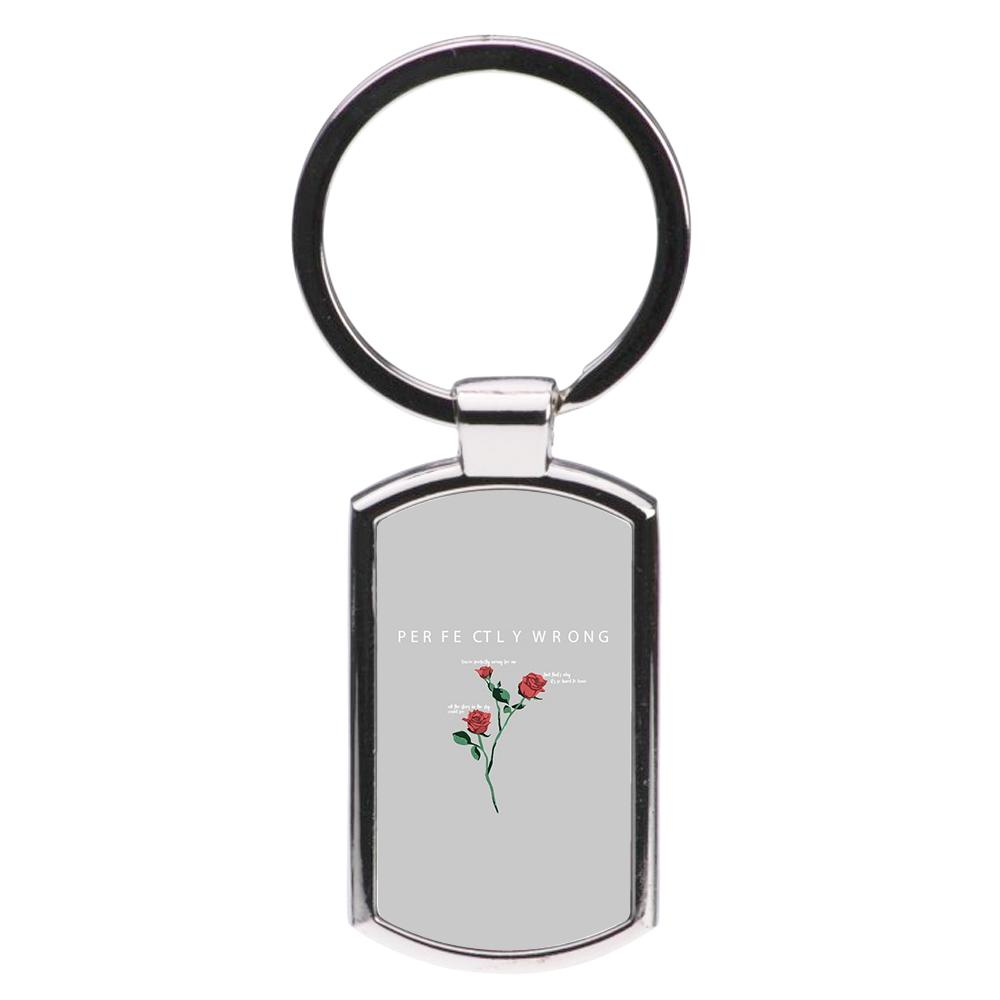 Perfectly Wrong -  Mendes Luxury Keyring