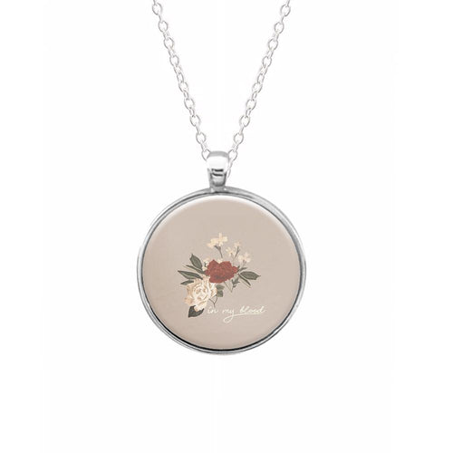 In My Blood Floral - Shawn Mendes Necklace
