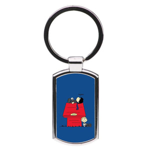 Sherlock Cartoon Luxury Keyring