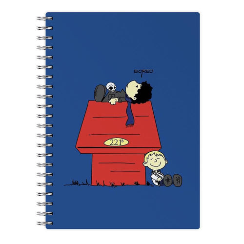 Sherlock Cartoon Notebook - Fun Cases