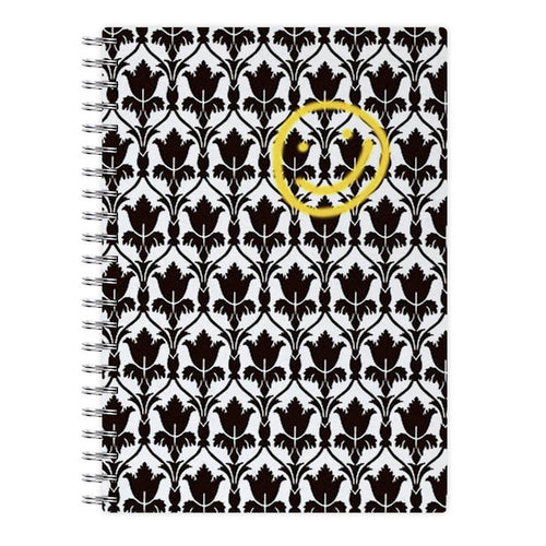 Sherlock Wallpaper Smile Notebook - Fun Cases