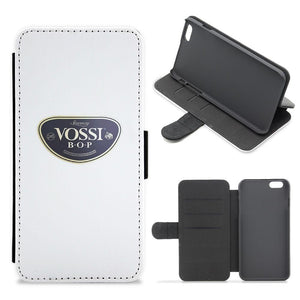 White Vossi BOP - Stormzy Flip / Wallet Phone Case