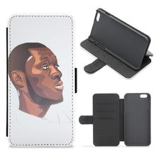 Stormzy Art Flip / Wallet Phone Case