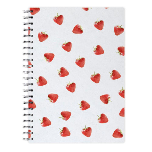 Strawberry Pattern Notebook - Fun Cases