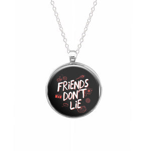 Friends Don't Lie - Stranger Things Keyring - Fun Cases