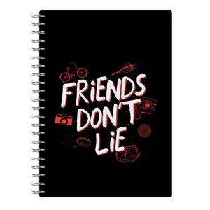Friends Don't Lie - Stranger Things Notebook - Fun Cases