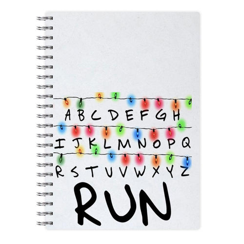 Run - Stranger Things Notebook - Fun Cases