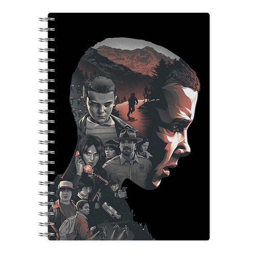 World of Upside Down - Stranger Things Notebook - Fun Cases
