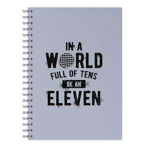 Be An Eleven - Stranger Things Notebook - Fun Cases