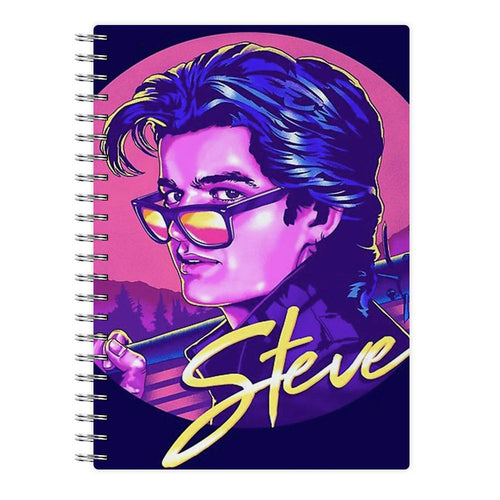 Steve Harrington - Stranger Things Notebook - Fun Cases