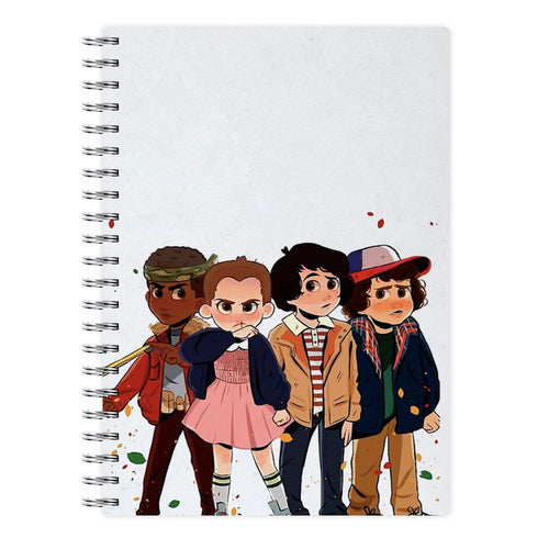 Stranger Kids - Stranger Things Notebook - Fun Cases