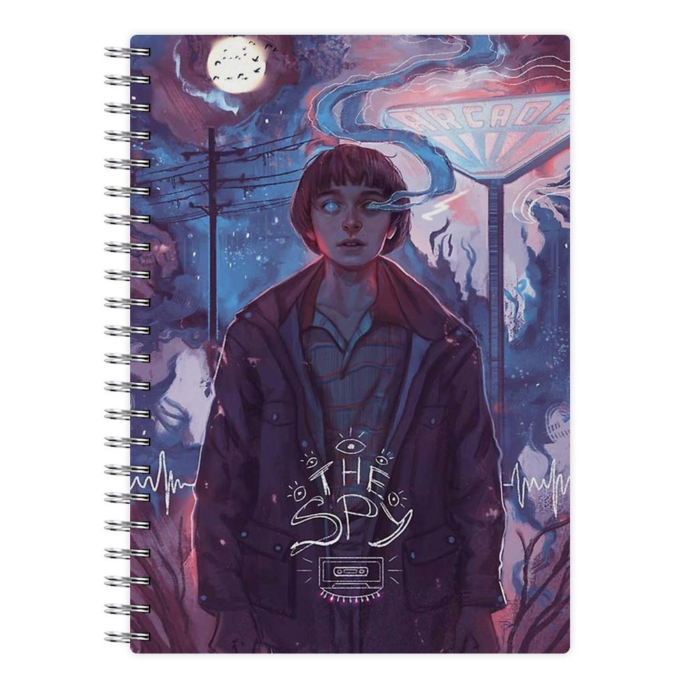 The Spy - Stranger Things Notebook - Fun Cases