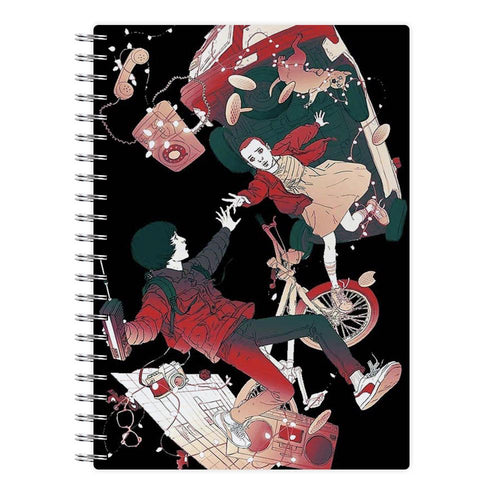 Stranger Things - Falling Notebook - Fun Cases
