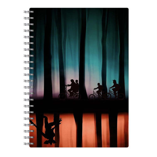 Stranger Things Upside Down Notebook - Fun Cases