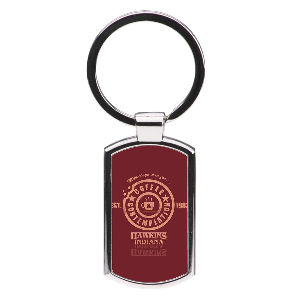 Coffee Contemplation - Stranger Things Luxury Keyring