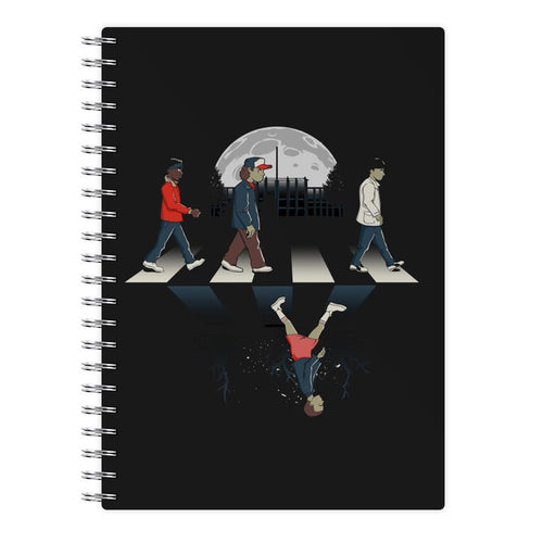 Upside Down Road - Stranger Things Notebook