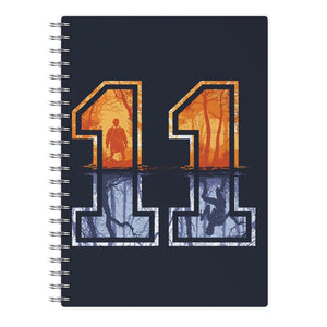 Football Eleven - Stranger Things Notebook