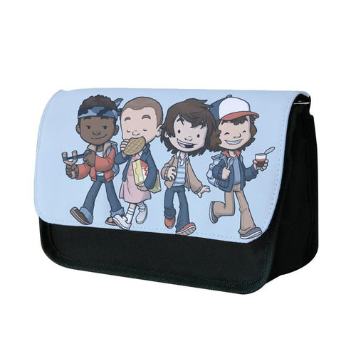 Cartoon Gang - Stranger Things Pencil Case