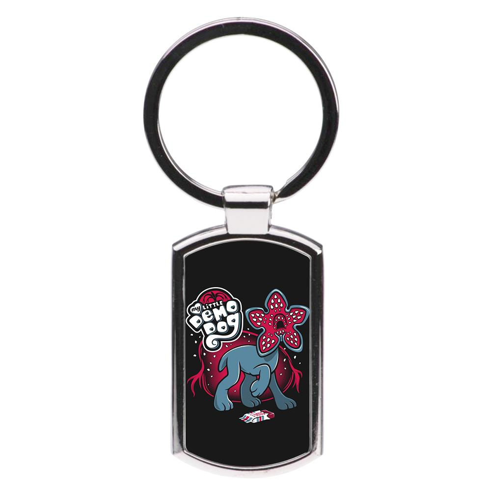 My Little Demo Dog - Stranger Things Luxury Keyring