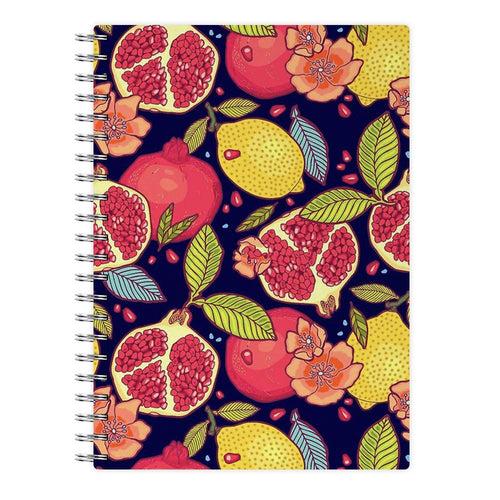 Tropical Garden Pattern Notebook - Fun Cases