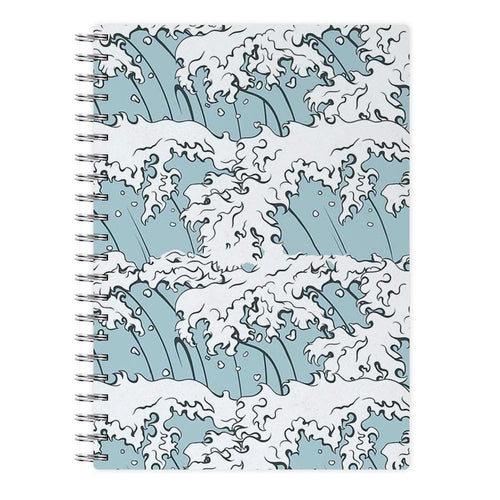 Japanese Waves Notebook - Fun Cases