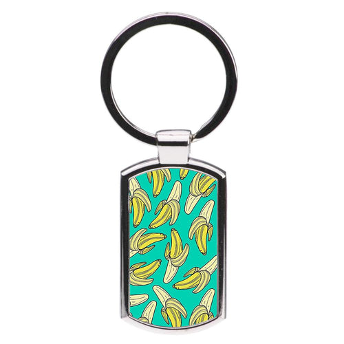 Banana Splat Luxury Keyring