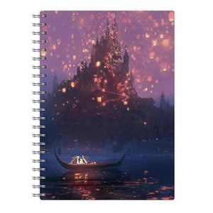 Tangled Chinese Lantern Disney Notebook - Fun Cases