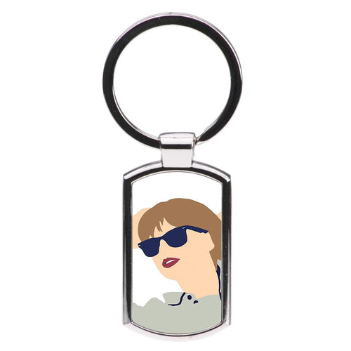 Taylor Cartoon 2 Luxury Keyring