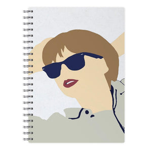 Taylor Swift Cartoon 2 Notebook